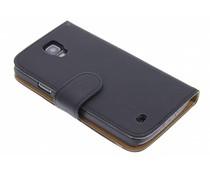 Zwart effen booktype hoes Samsung Galaxy S4 Active
