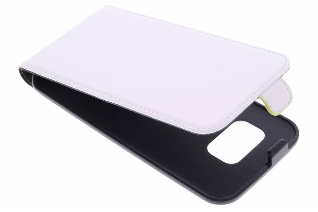 Muvit Slim flipcase voor de Samsung Galaxy S6 - wit