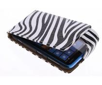 Zebra flipcase Nokia Lumia 620