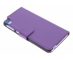 Effen booktype hoes HTC Desire 820