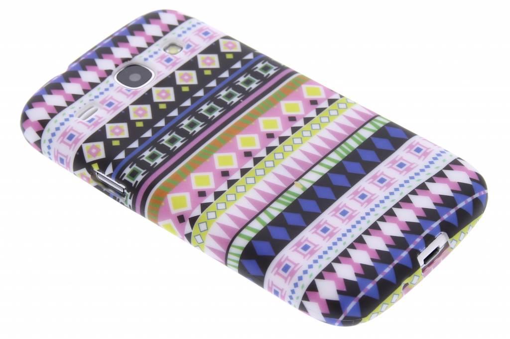 Aztec design TPU siliconen hoesje voor de Samsung Galaxy Core