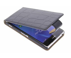 Krokodil flipcase Sony Xperia Z2