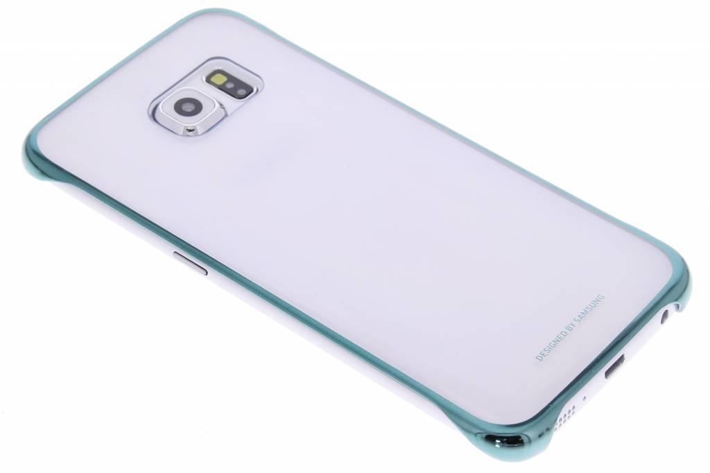 Samsung originele Clear Cover voor de Galaxy S6 Edge - groen