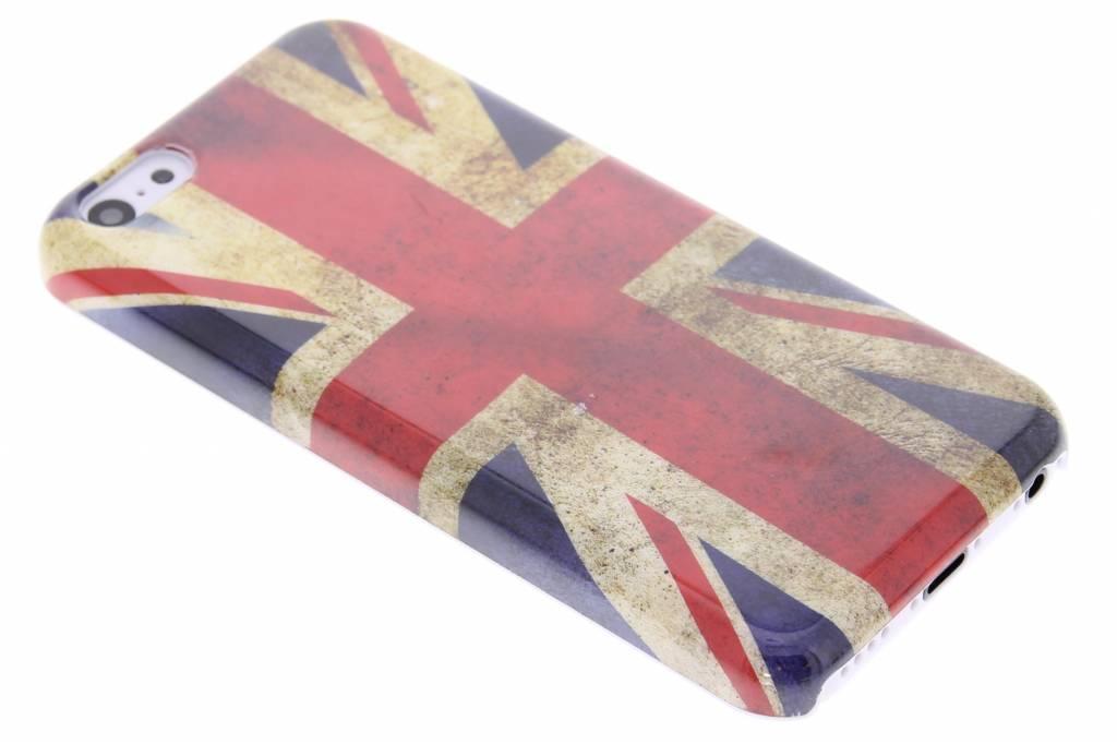 Britse vlag glad hardcase hoesje voor iPhone 5c