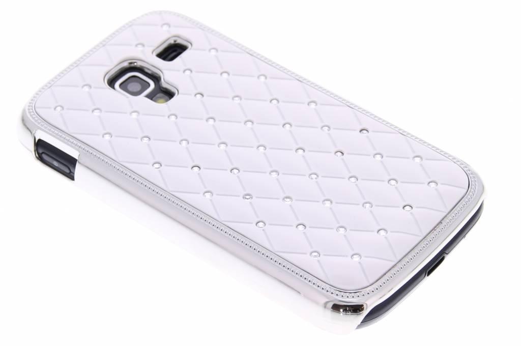 Stijlvol backcover hoesje met strass-steentjes voor Samsung Galaxy Ace 2 i8160