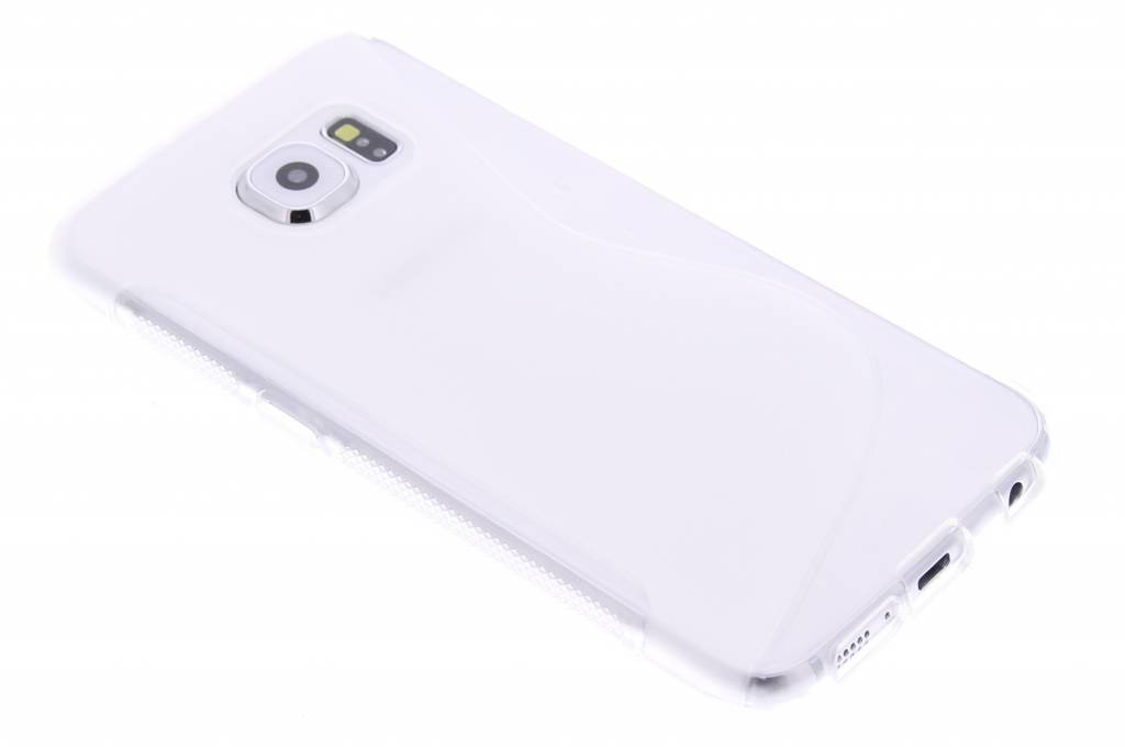 Transparant S-line TPU hoesje voor de Samsung Galaxy S6