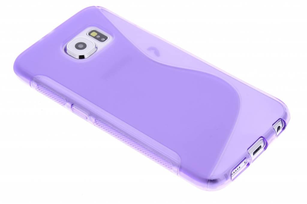 Paars S-line TPU hoesje voor de Samsung Galaxy S6