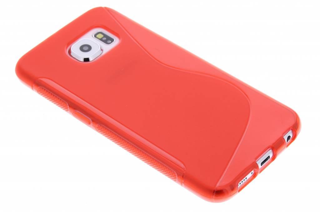 Rood S-line TPU hoesje voor de Samsung Galaxy S6