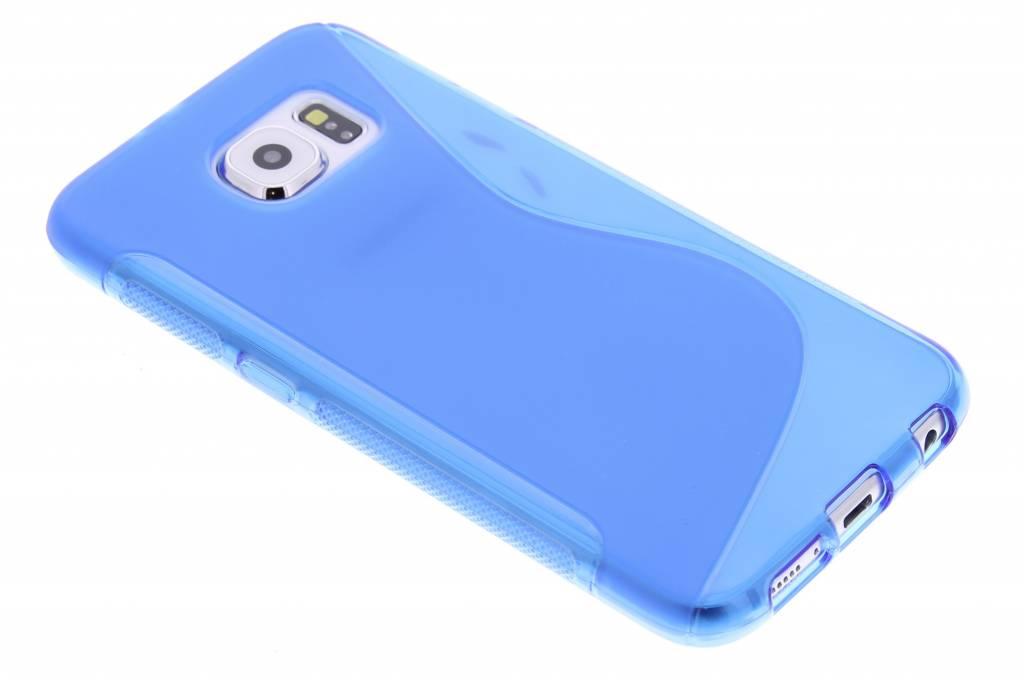 Blauw S-line TPU hoesje voor de Samsung Galaxy S6