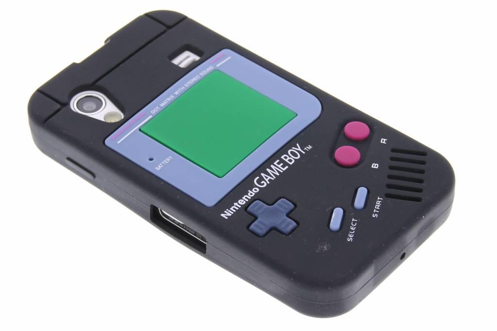 Gameboy design siliconen hoesje voor de Samsung Galaxy Ace