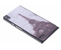 Eiffeltoren design hardcase Huawei Ascend P6 / P6s