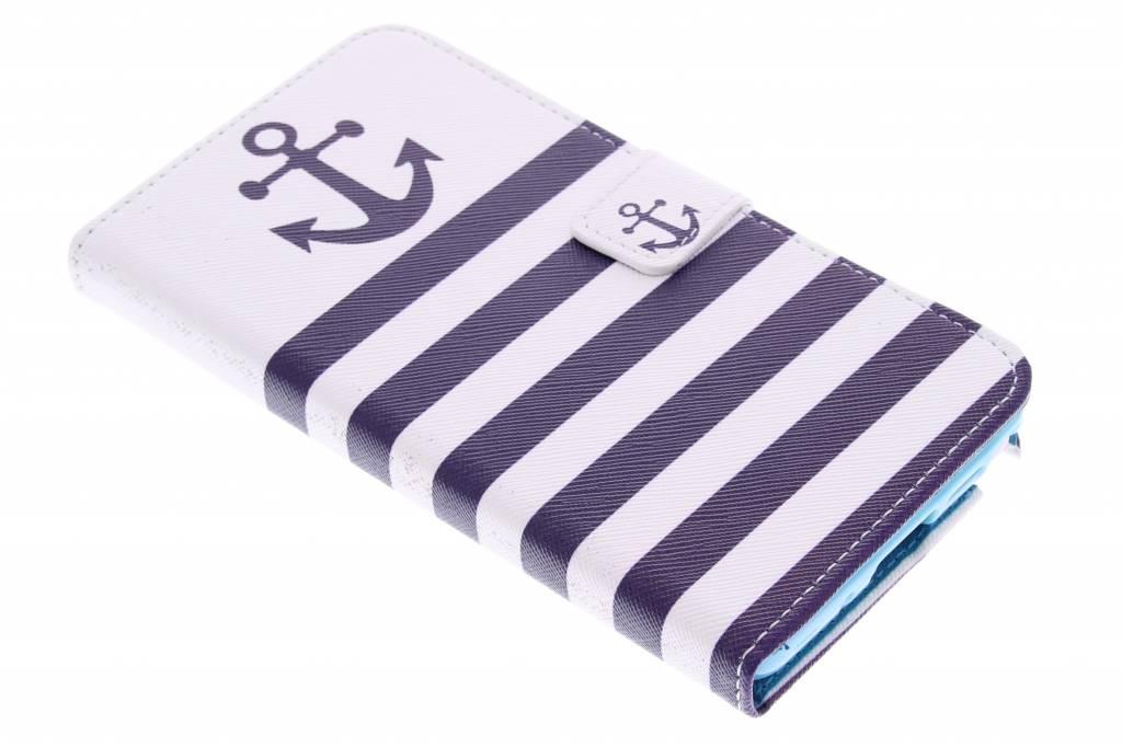 Anker design TPU booktype hoes voor de Samsung Galaxy Note 3