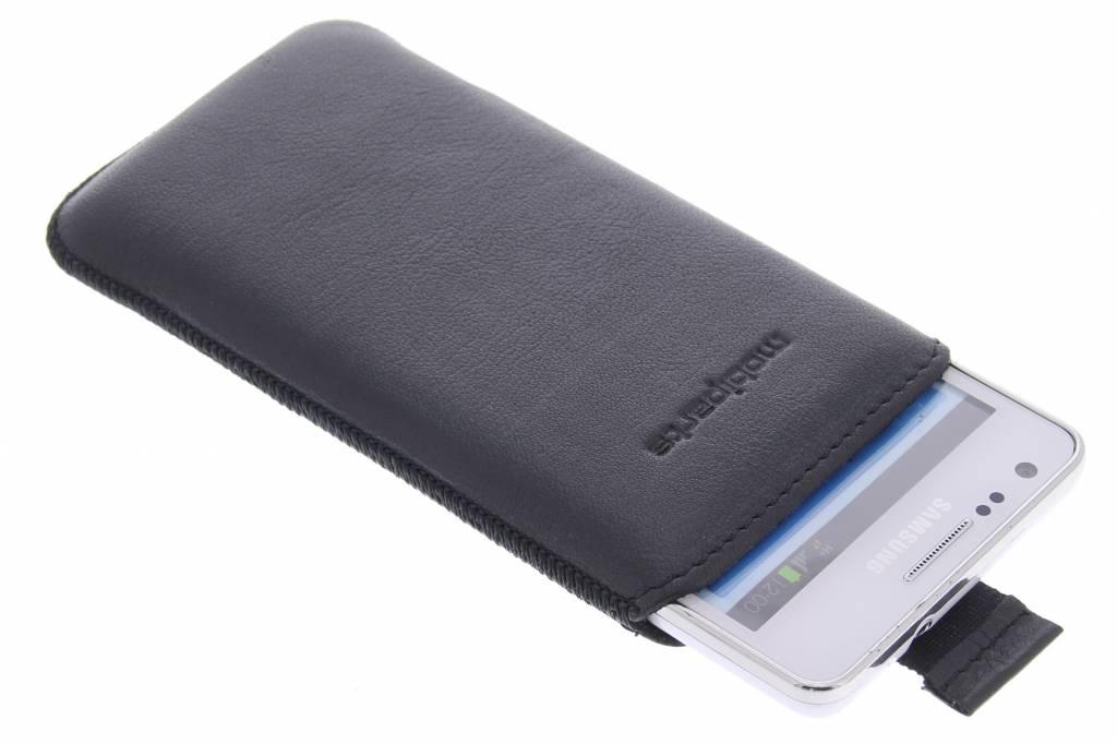 Mobiparts Luxury Pouch voor de Samsung Galaxy S2 (Plus) - Zwart