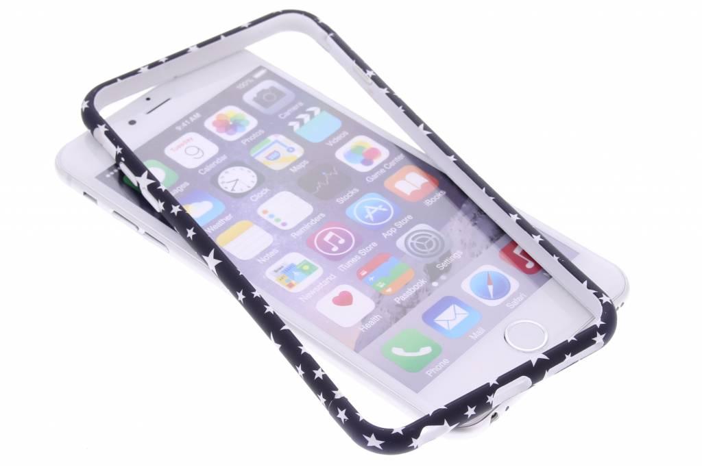 Donkerblauw sterren design bumper voor de iPhone 6(s) Plus