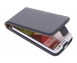 Zwart luxe flipcase LG G2 Mini
