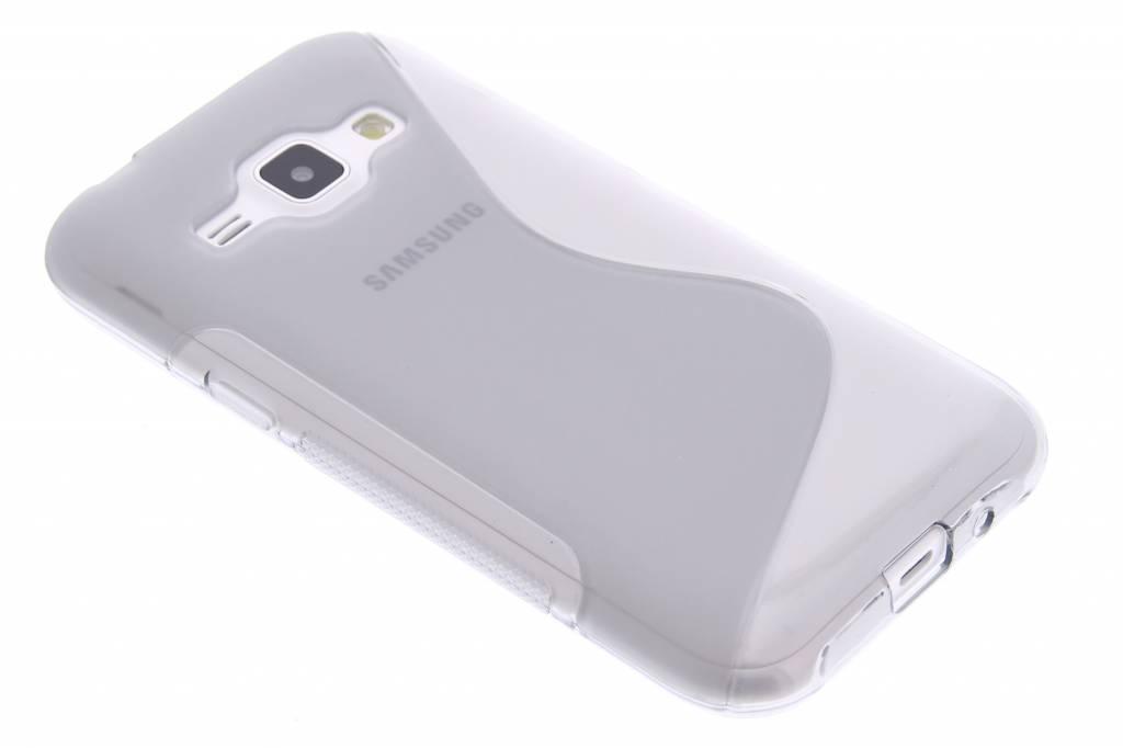 Grijs S-line TPU hoesje voor de Samsung Galaxy J1