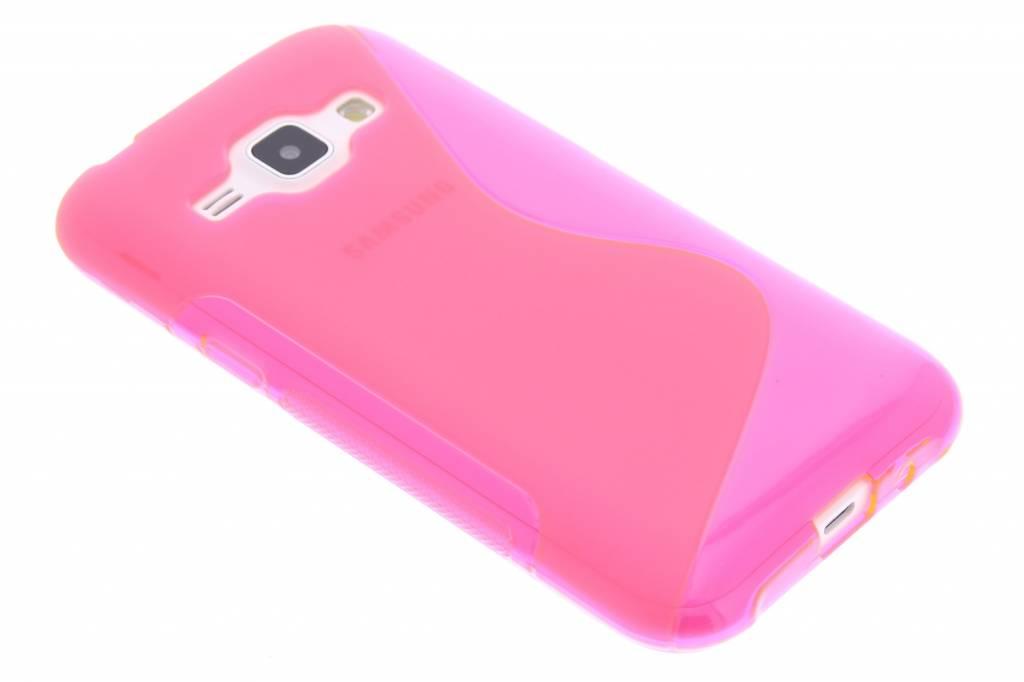 Rosé S-line TPU hoesje voor de Samsung Galaxy J1