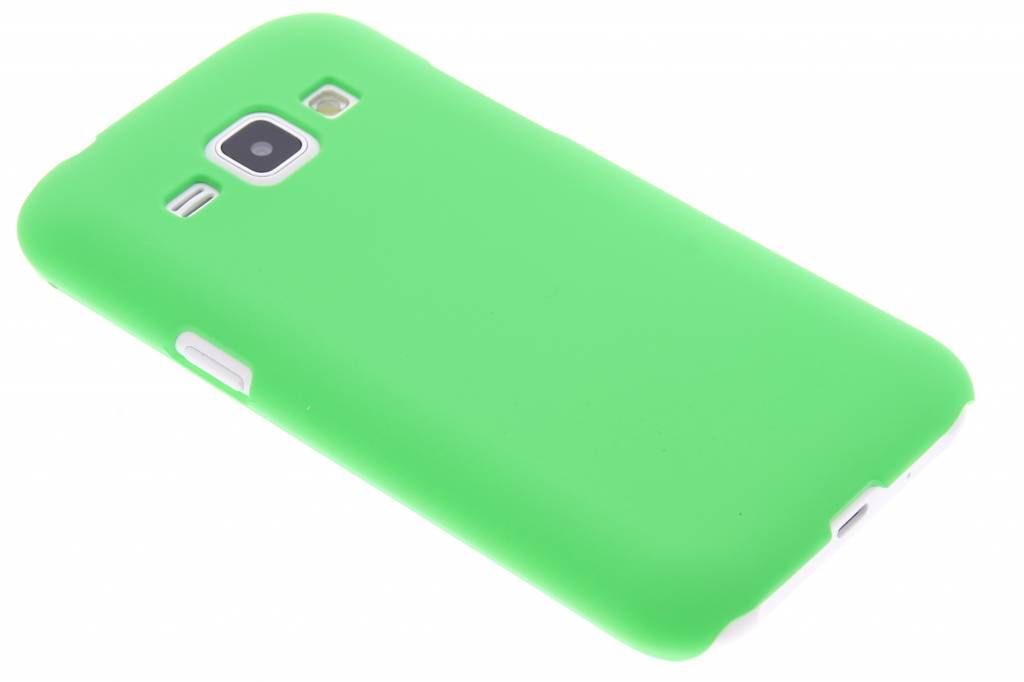 Groen effen hardcase hoesje voor de Samsung Galaxy J1