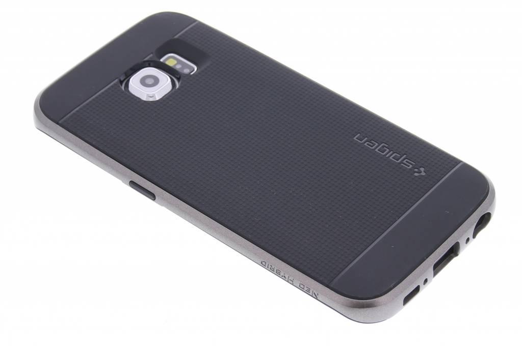 Spigen Neo Hybrid Case voor de Samsung Galaxy S6 Edge - Gunmetal