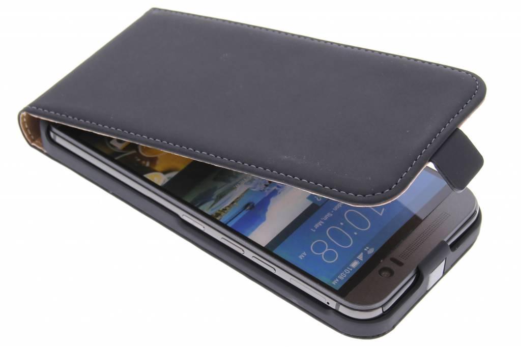 Premium flipcase voor de HTC One M9 Black