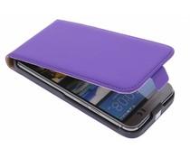Mobiparts premium flipcase HTC One M9 - Purple
