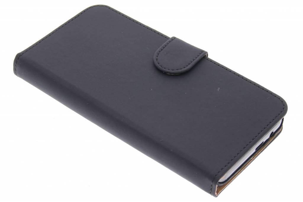 Zwarte effen booktype hoes voor de HTC One M9