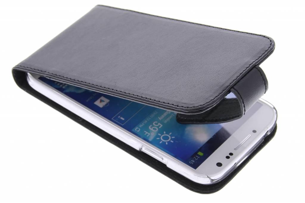 Valenta Flip classic luxe voor de Samsung Galaxy S4 - Black