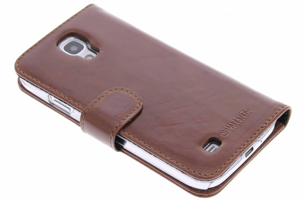 Valenta Booklet Classic Luxe voor de Samsung Galaxy S4 - Brown