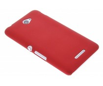 Rood effen hardcase Sony Xperia E4