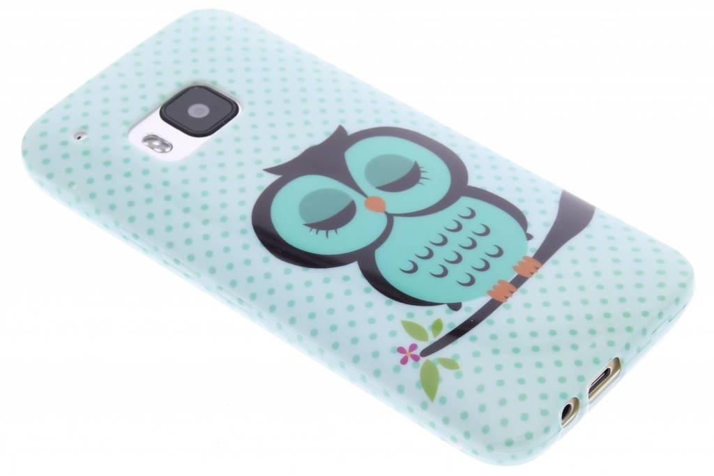 Uil design TPU siliconen hoesje voor de HTC One M9