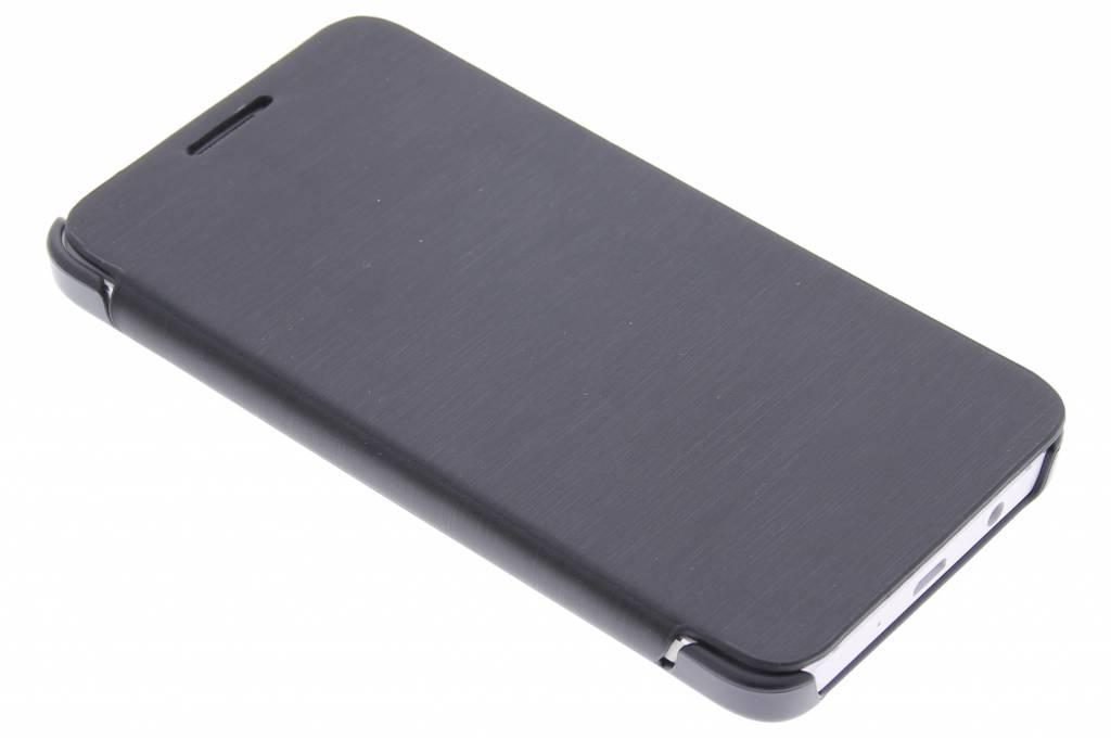 Zwarte slim booktype hoes voor de Samsung Galaxy A3