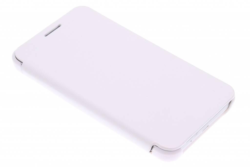 Witte slim booktype hoes voor de Samsung Galaxy Core 2