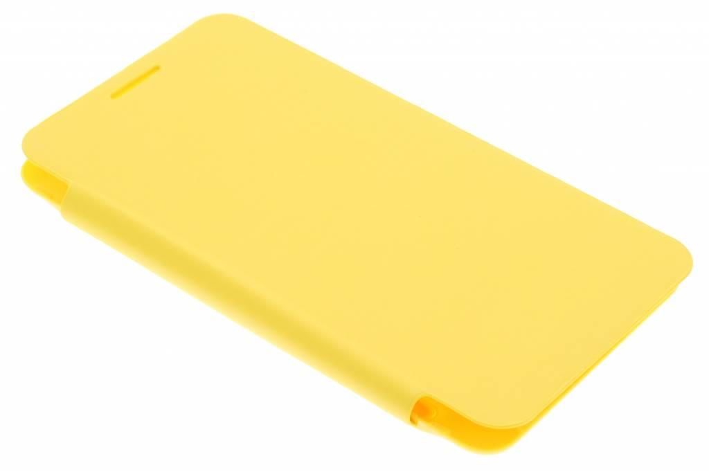 Gele flipcover voor de Samsung Galaxy Core 2