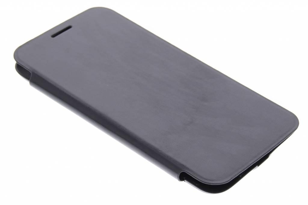 Couvercle Rabattable Noir Avec Fenêtre Pour Le Samsung Galaxy S5 Mini RNIFM6