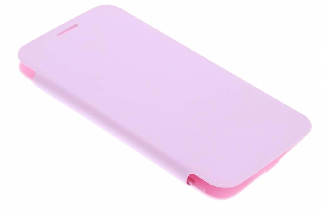 Roze flipcover voor de Samsung Galaxy S5 Mini
