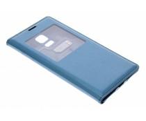 Blauw/groen flipcover met venster Samsung Galaxy S5 Mini