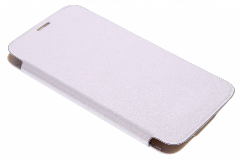 Zilveren flipcover voor de Samsung Galaxy S5 (Plus)