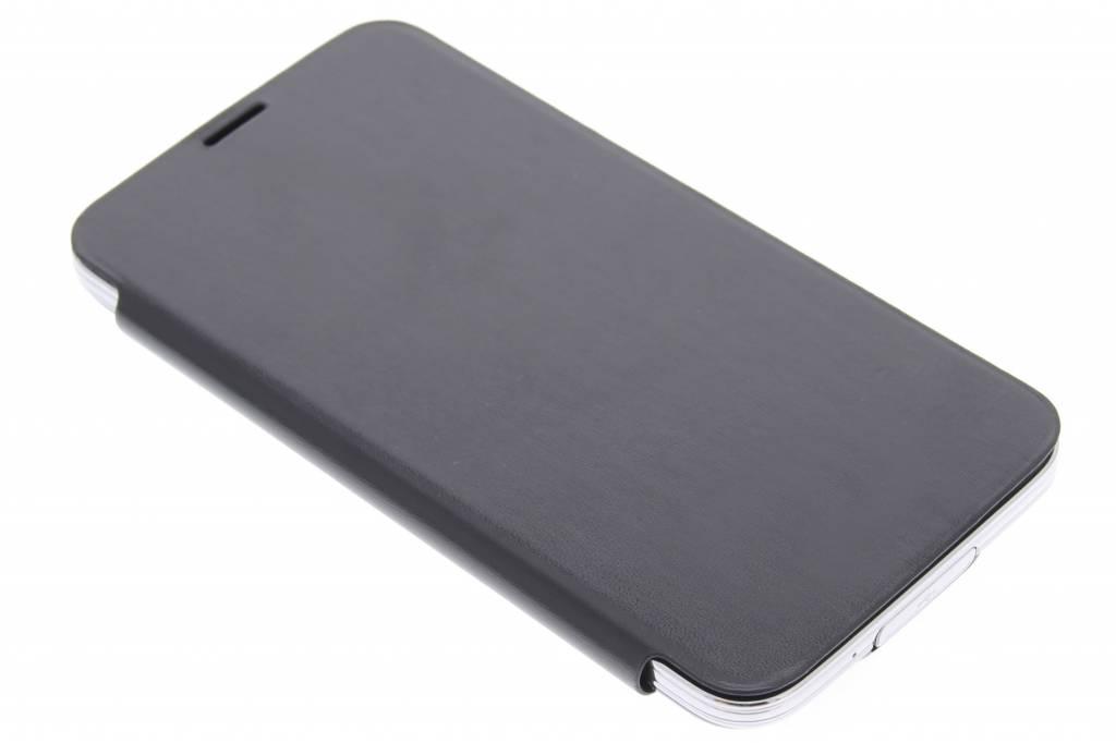 Zwarte glanzende flipcover voor de Samsung Galaxy S5 (Plus)