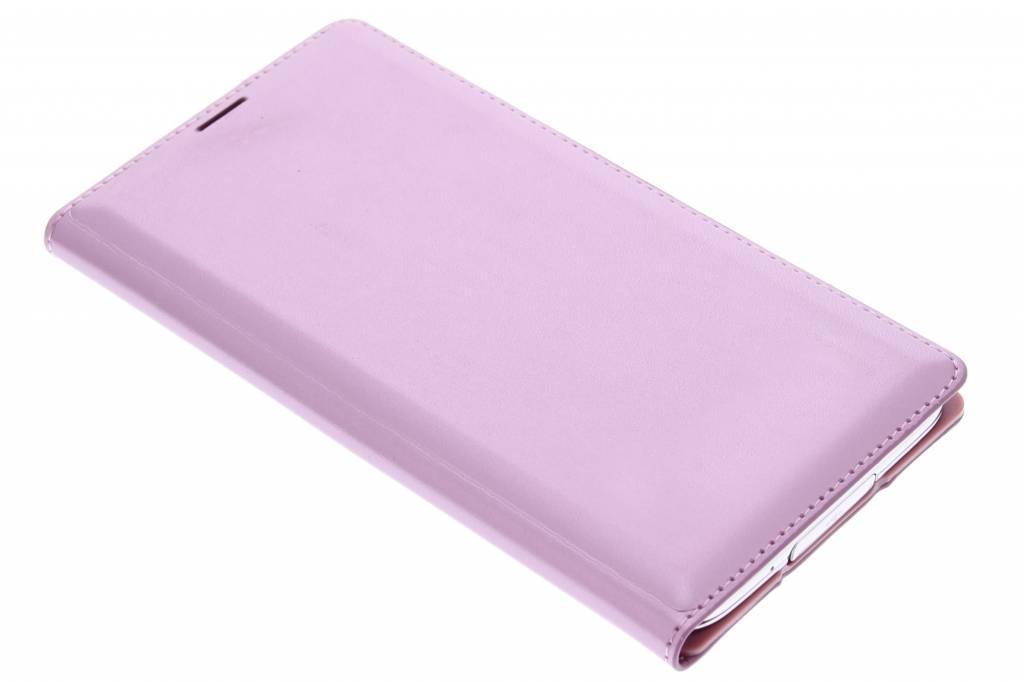 Roze flip wallet voor de Samsung Galaxy S5 (Plus)