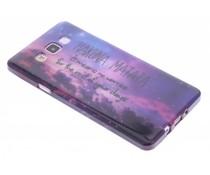 Design TPU siliconen hoesje Samsung Galaxy A7