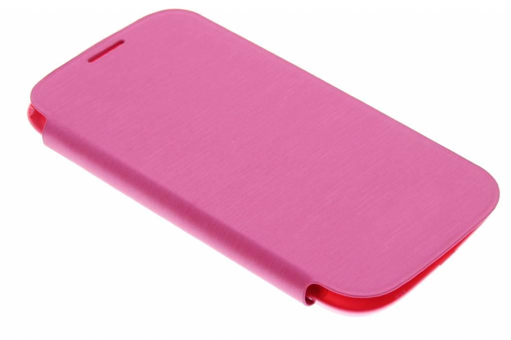 Fuchsia flipcover voor de Samsung Galaxy S3 / Neo