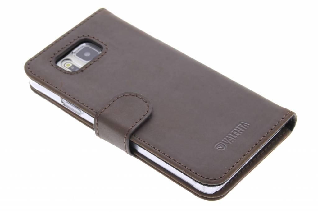 Valenta Booklet Classic voor de Samsung Galaxy Alpha - Vintage Brown