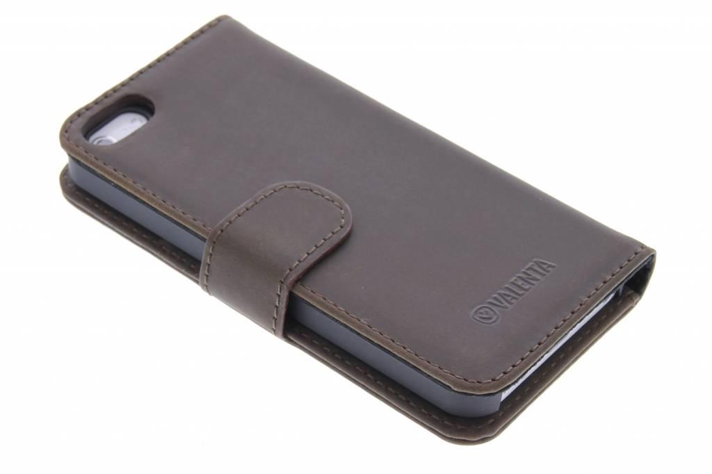 Valenta Booklet Classic Luxe voor de iPhone 5 / 5s / SE - Vintage Brown