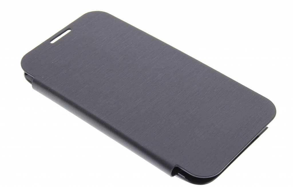 Zwarte flipcover voor de Samsung Galaxy Note 2