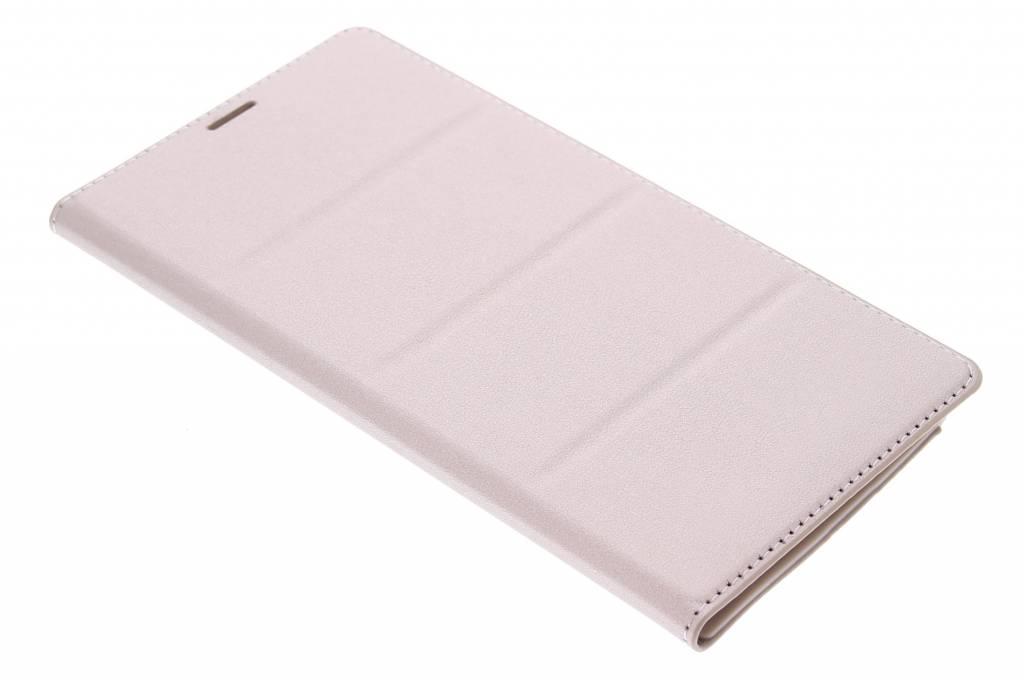 Gouden premium flip wallet Samsung Galaxy Note 4