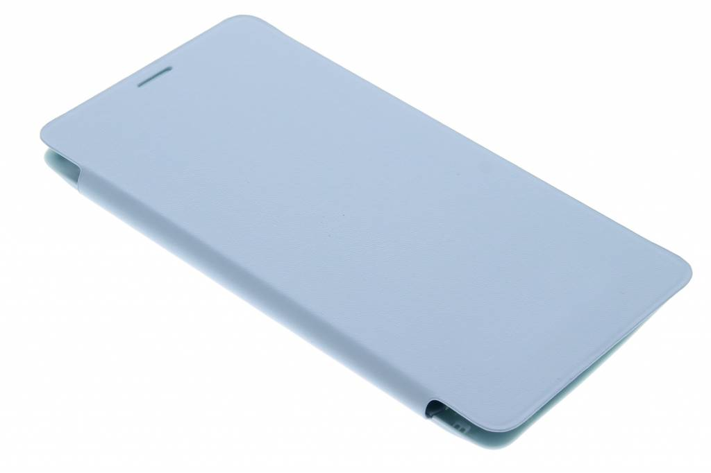 Turquoise flipcover voor de Samsung Galaxy Note 4
