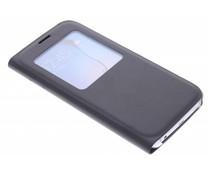 Slim booktype hoes met venster Samsung Galaxy S6