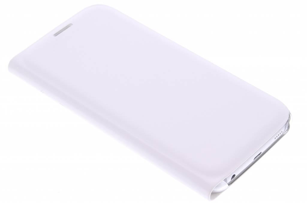 Witte slim booktype hoes voor de Samsung Galaxy S6