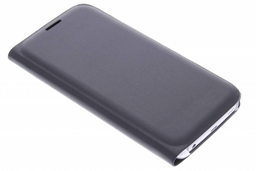 Zwarte slim booktype hoes voor de Samsung Galaxy S6