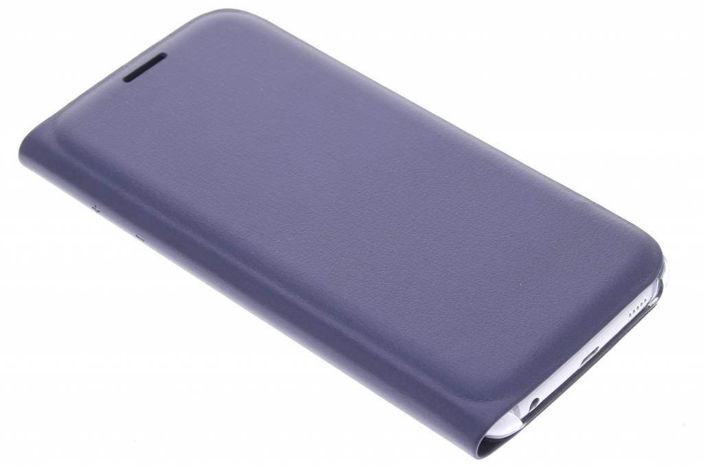 Metallic donkerblauw slim booktype hoes voor de Samsung Galaxy S6